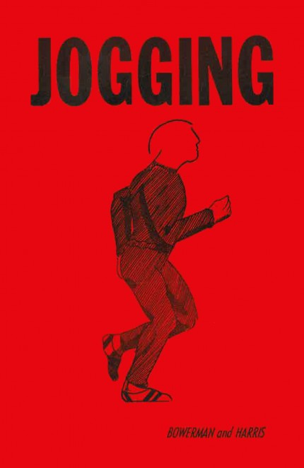 1966 Jogging Bowerman cover by artist Melvin Jay Lindsay