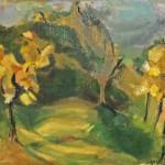 Oregon Landscape, 1965-1966, by Melvin Jay Lindsay