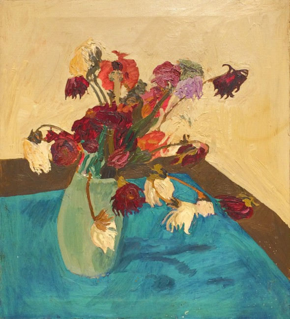 Wilting Flowers, 1966 by M Jay Lindsay