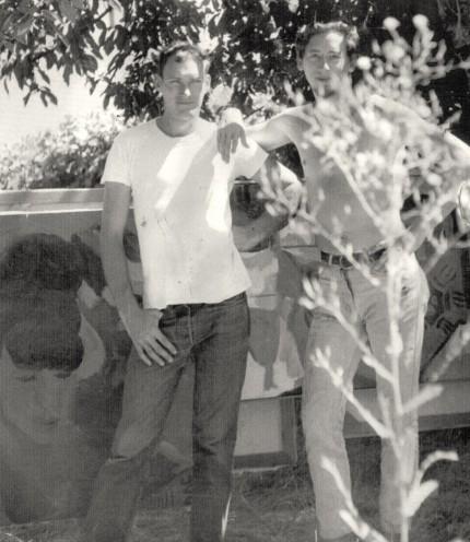 Jay Lindsay with Tom Blodgett