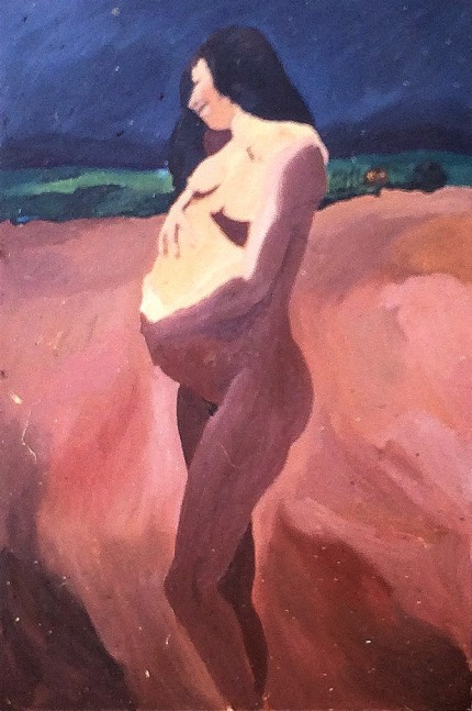 Nude, 1966, by Melvin Jay Lindsay