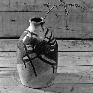 Ceramic vase by M Jay Lindsay