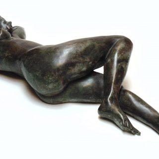 Reclining Nude Bronze